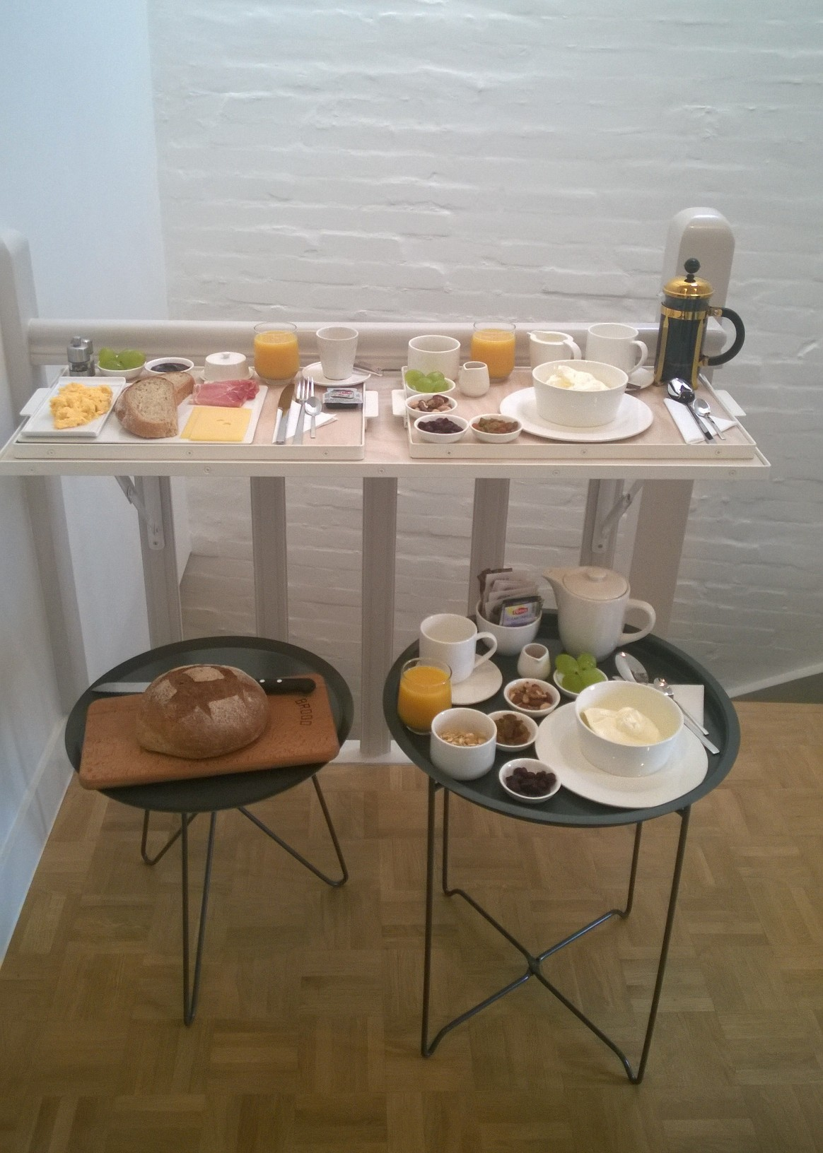 Eindhoven bed breakfast di design studio nr 7 lifeblogger - Mobili per bed and breakfast ...