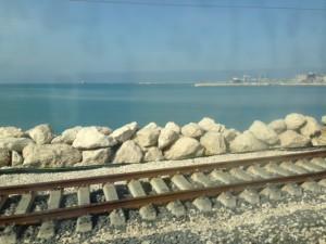 Ancona dal treno