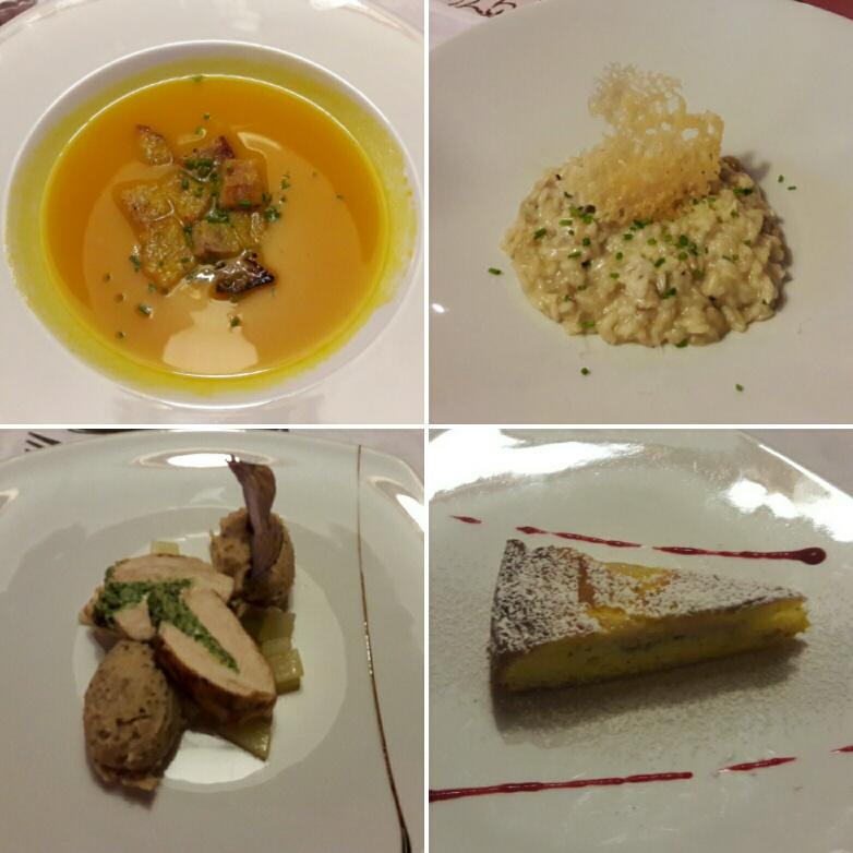 Cena all'hotel Zum Zirm nella valle del Renon