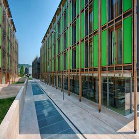 Trento quartiere le albere e centro storico lifeblogger for Appartamenti trento