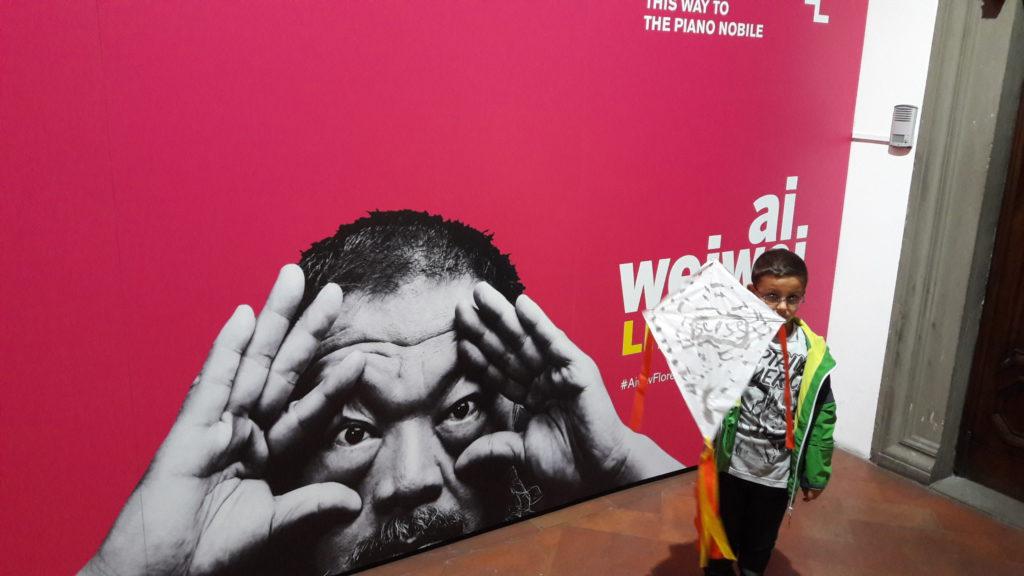 Poster Ai Weiwei Libero Palazzo Strozzi Firenze