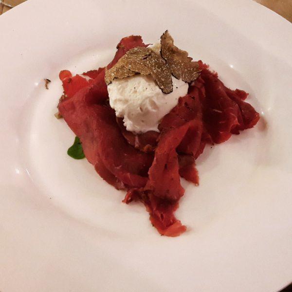 Cenando con Carapina al Borro