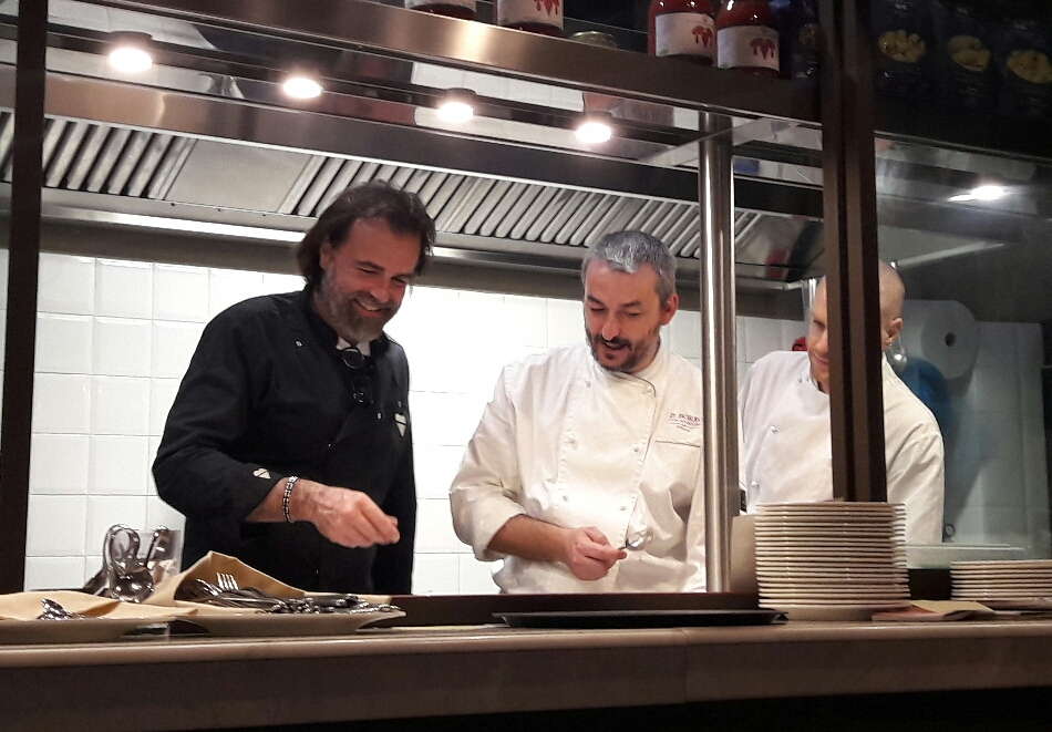 Cenando con al Borro Tuscan Bistrò