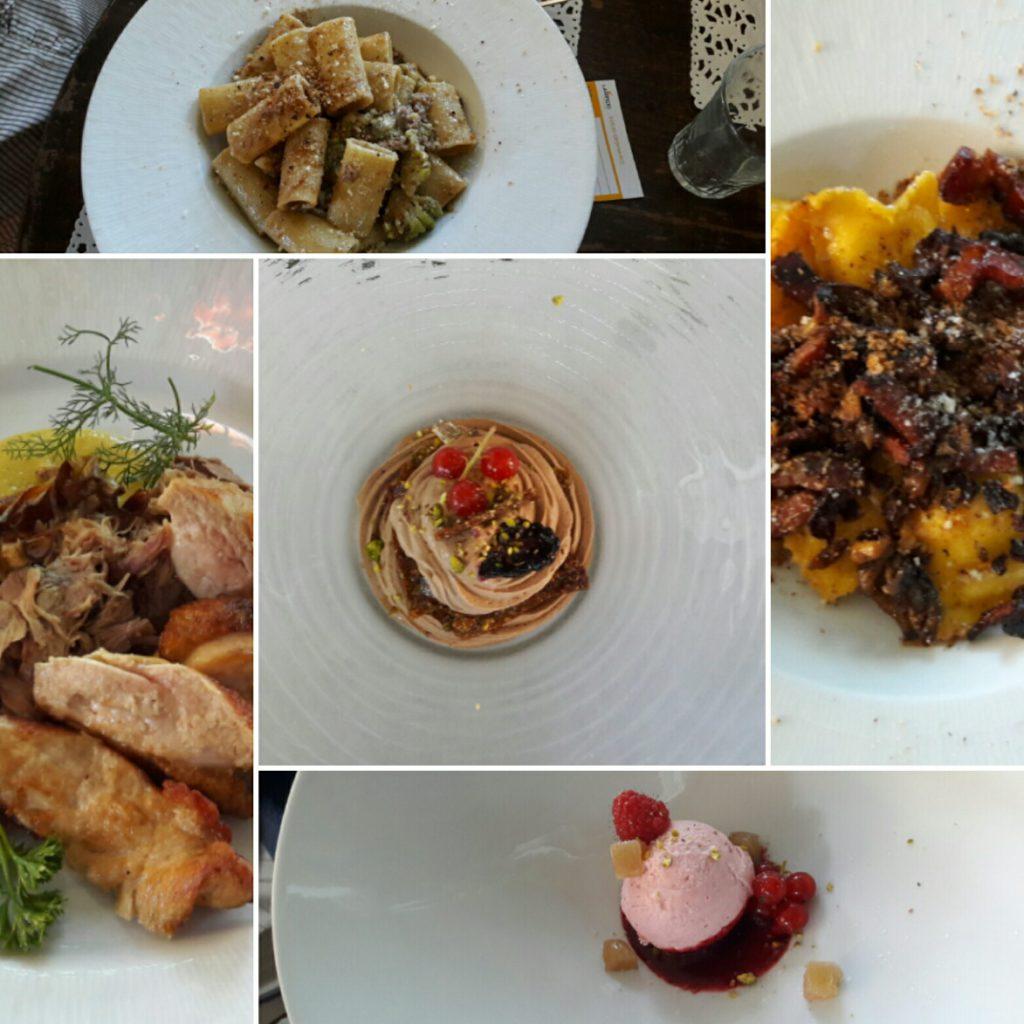 Roma Lanificio Cucina il menu mix
