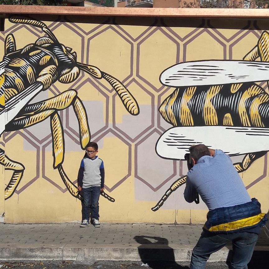 Roma Quadraro Murales