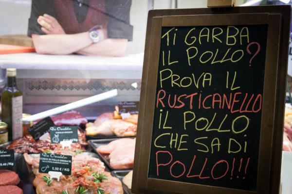 Mercato ortofrutticolo a Firenze