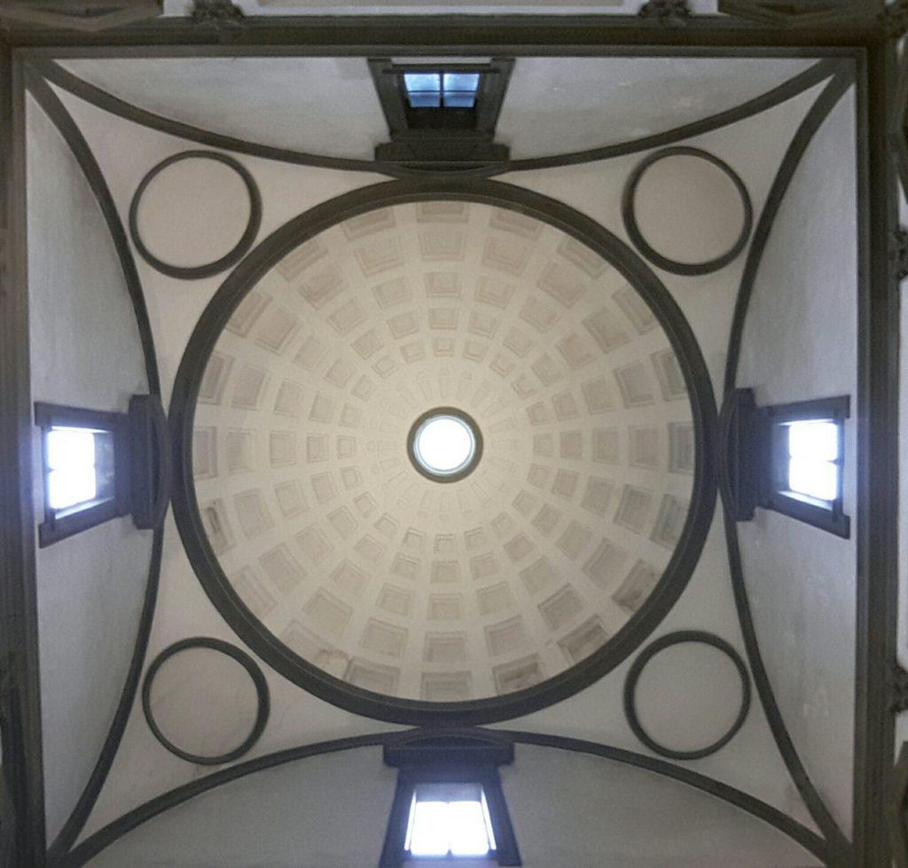 La Cupola della Sagrestia Nuova a San Lorenzo Firenze