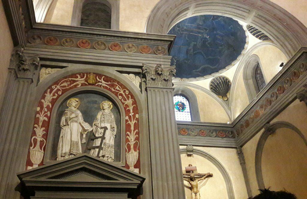 Sagrestia Vecchia a San Lorenzo Firenze