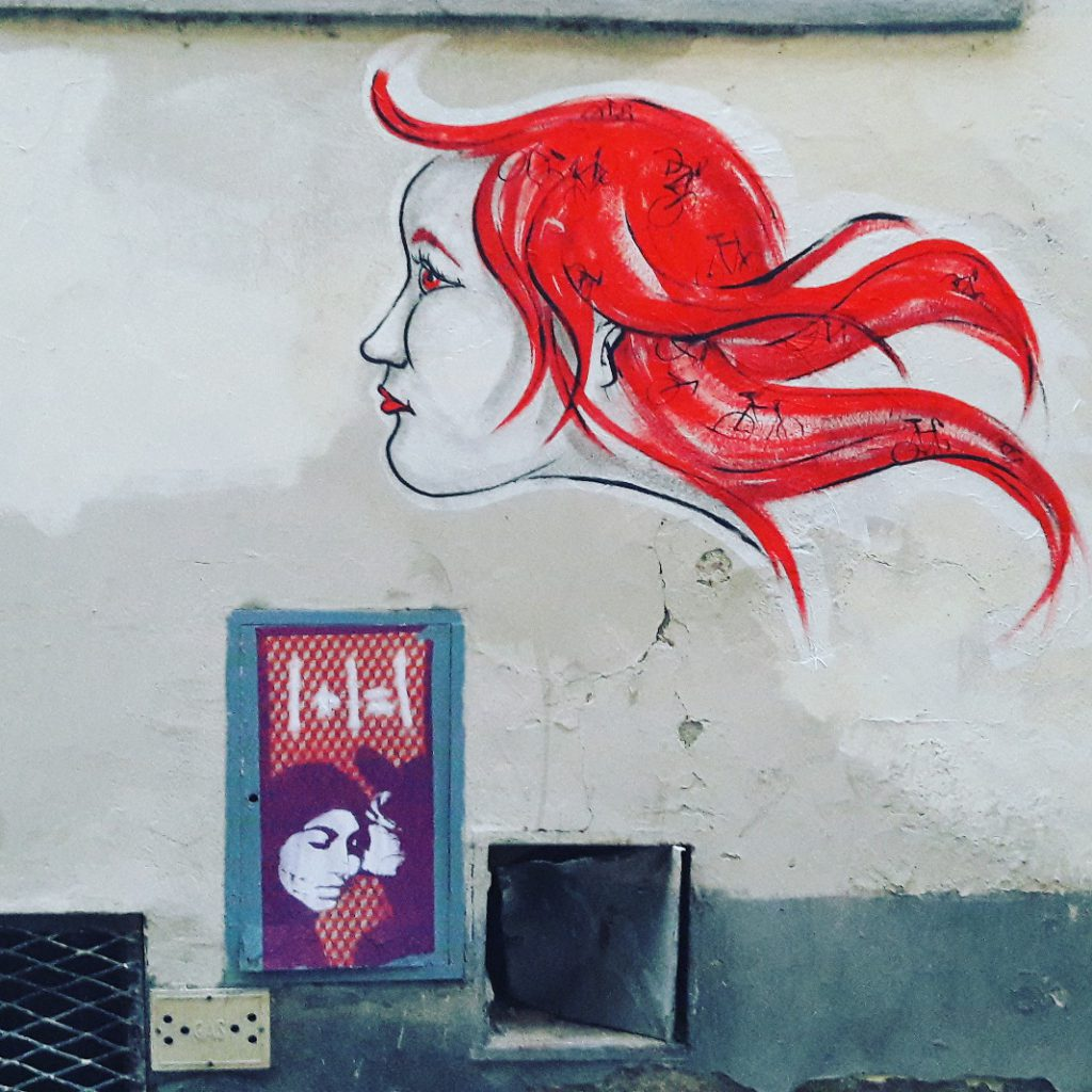 Firenze centro stencil