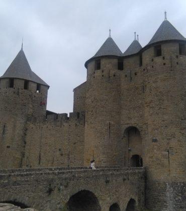 Francia castello di Carcassonne e cena a Montpellier