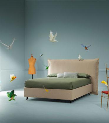 Un letto di design che fa sognare… da svegli