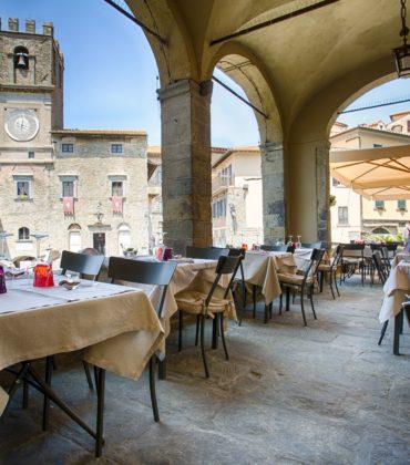 Cucina di Cortona rivisitata al ristorante La Loggetta