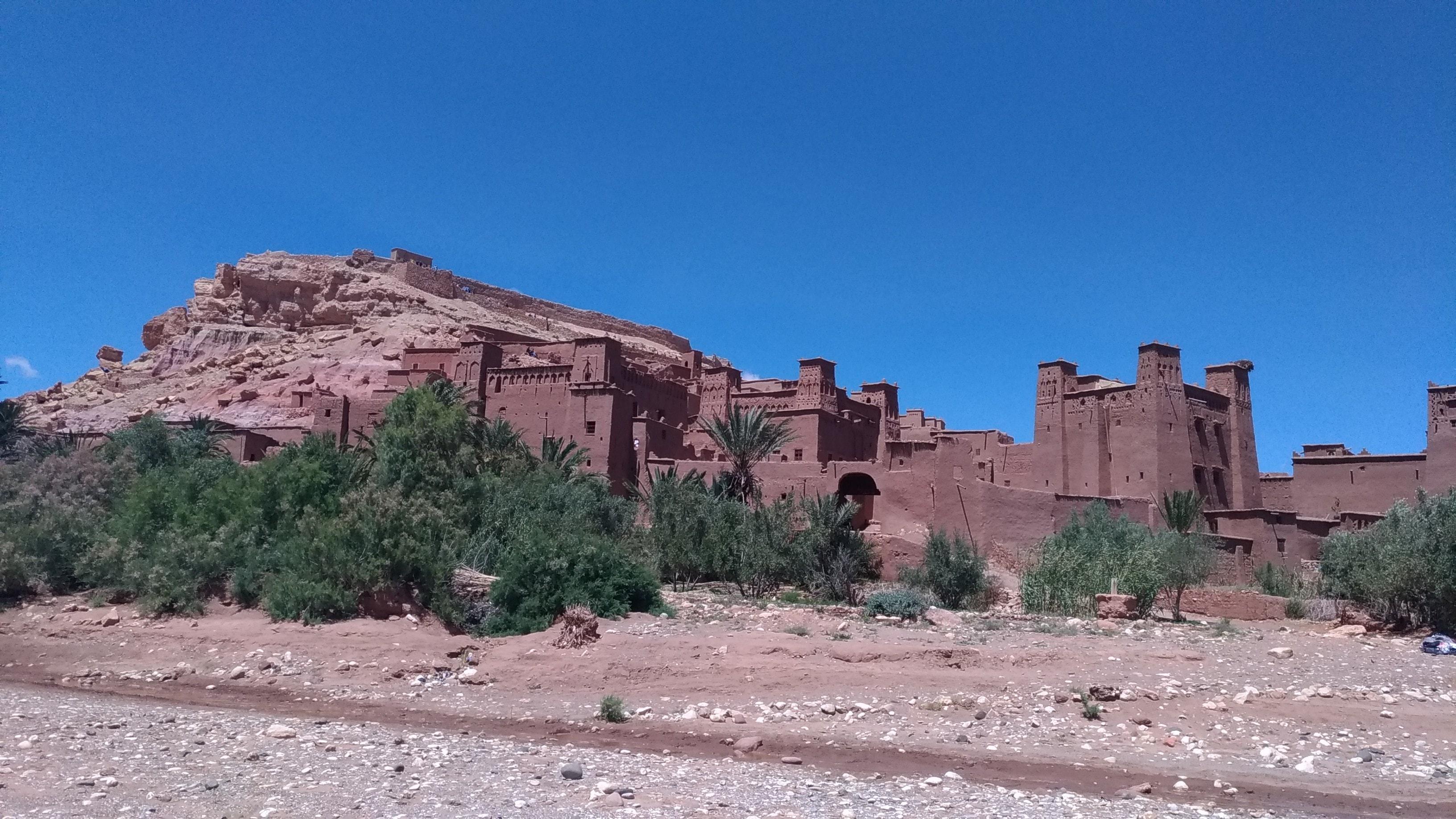 La ksar di Ait Benhaddou in Marocco