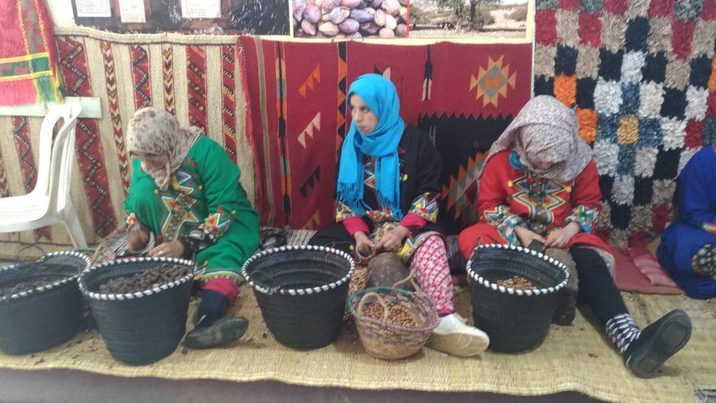 Olio di argan e cooperativa di donne