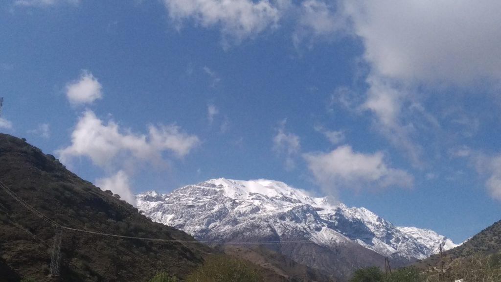Marocco Atlante con la neve