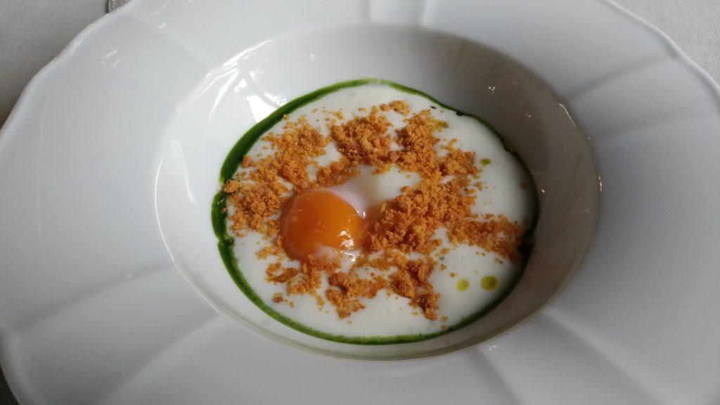 Ristorante Mulino a Vento uovo cotto a bassa temperatura
