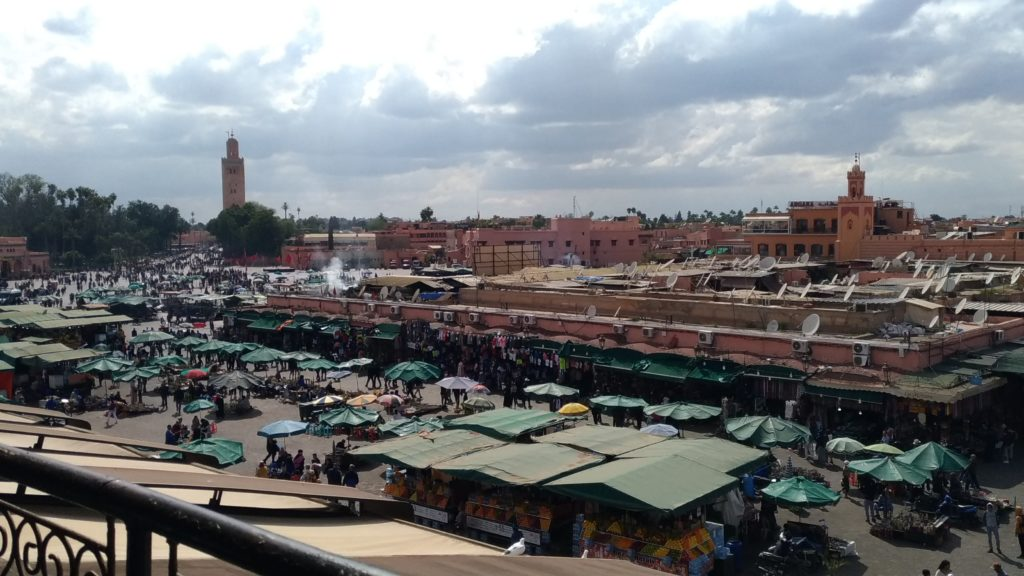 Marrakesh Marocco Piazza Jemaâ el Fna