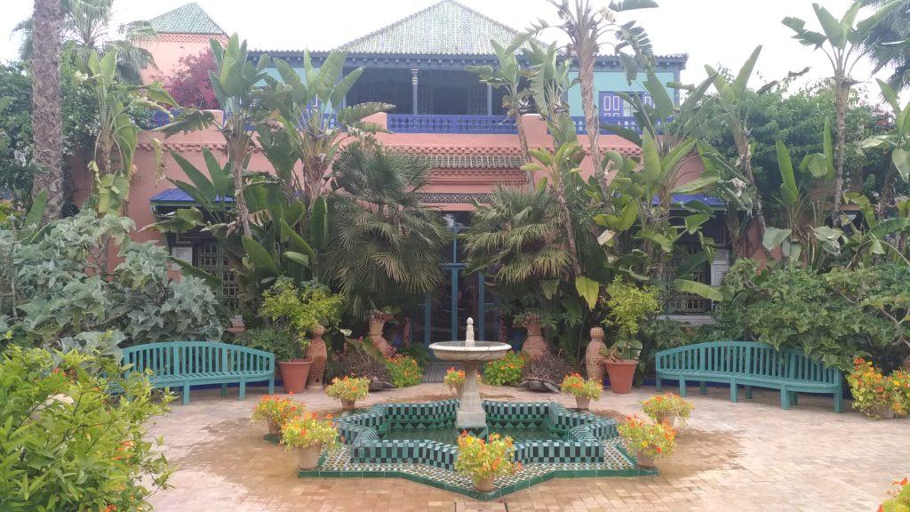 Marrakesh Marocco la villa dei giardini Majorelle