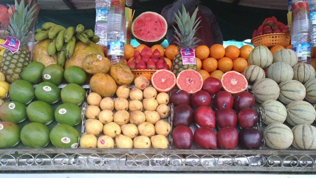 Medina di Marrakesh Marocco frutta nel souk