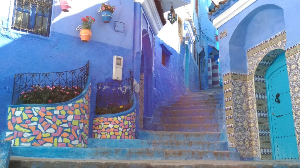 Chefchaouen la città blu in Marocco