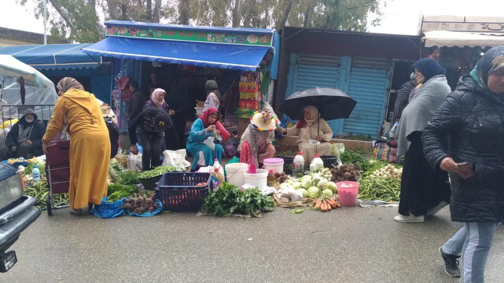 Marocco Chefchaouen mercato
