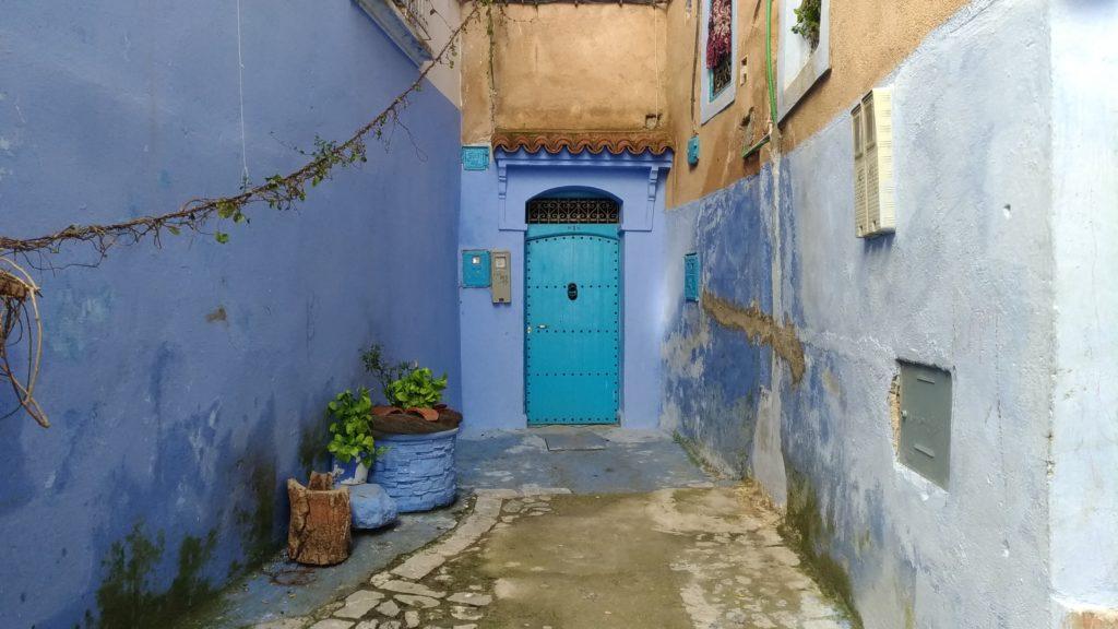 Marocco Chefchaouen la città blu