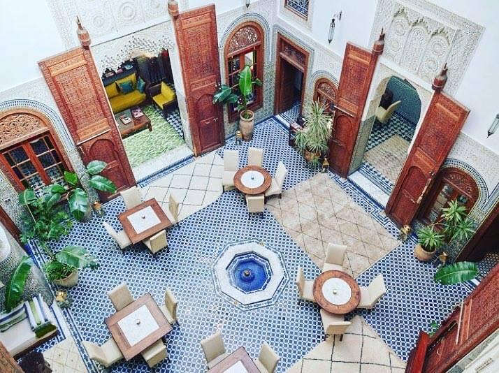 Dar Roumana Fez Marocco ristorante