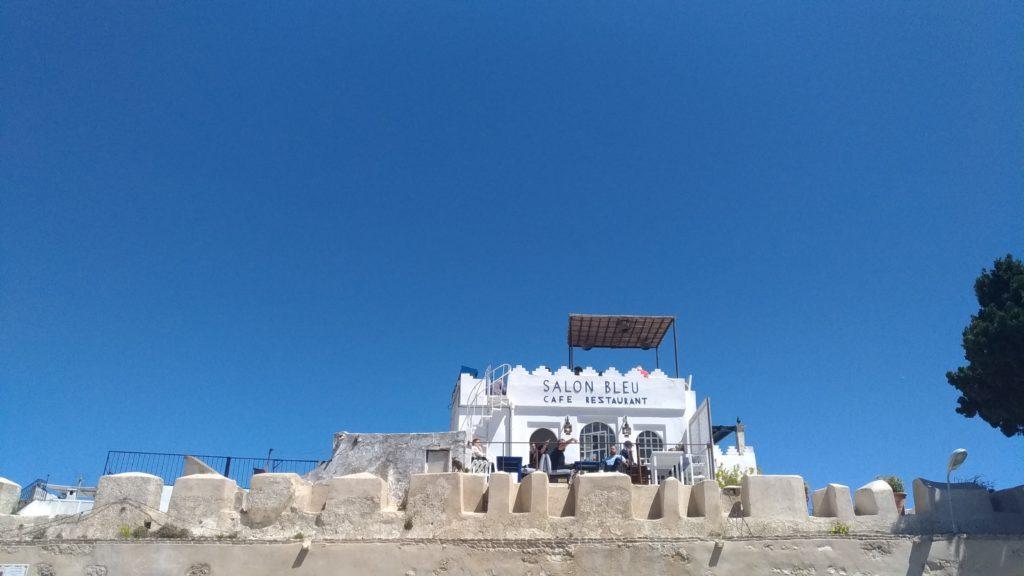 Marocco Tangeri ristorante Le Salon Blue