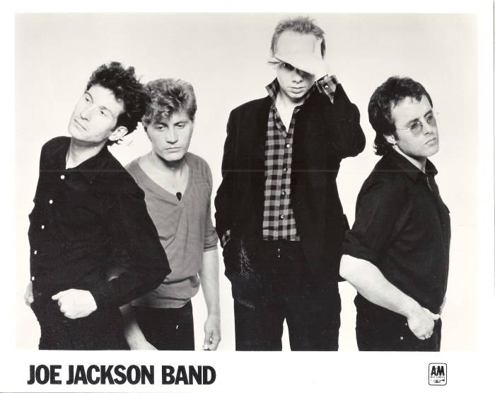 Joe Jackson band Look Sharp