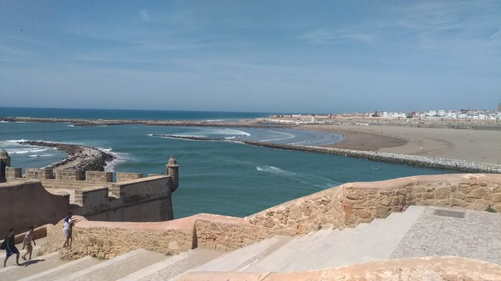 Marocco Rabat Sale mare