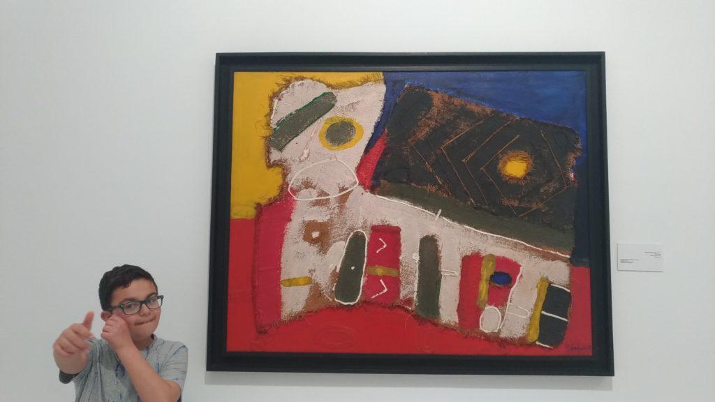 Museo di Arte contemporanea a Rabat in Marocco