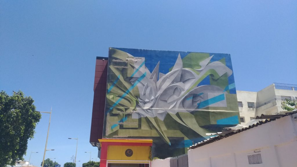 Marocco Rabat murales