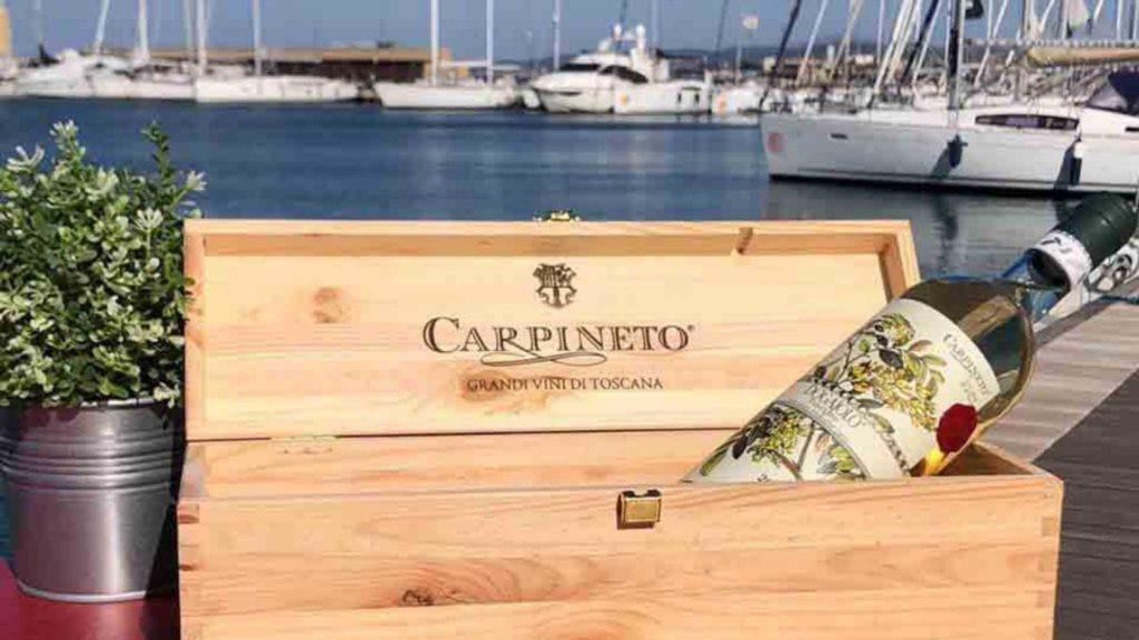 Vino Carpineto Dogajolo bianco perfetto al mare