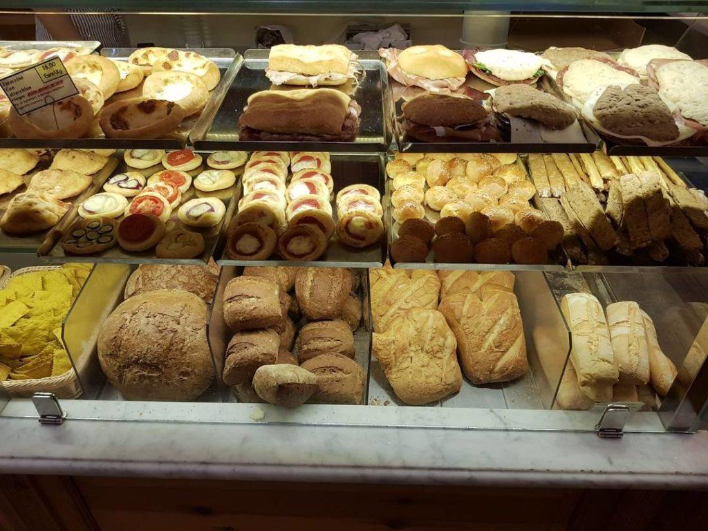 Pane e schiacciate del Giusti a Lucca