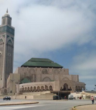 Moschea Hassan II nella vivace Casablanca in Marocco