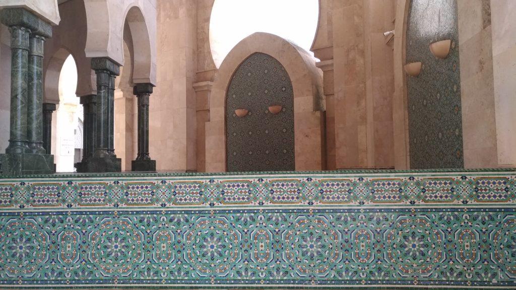Marocco Casablanca zellige