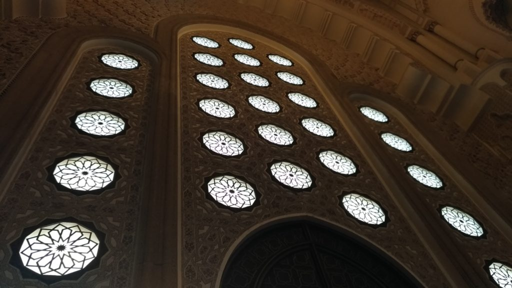 Marocco Casablanca Moschea Hassan II