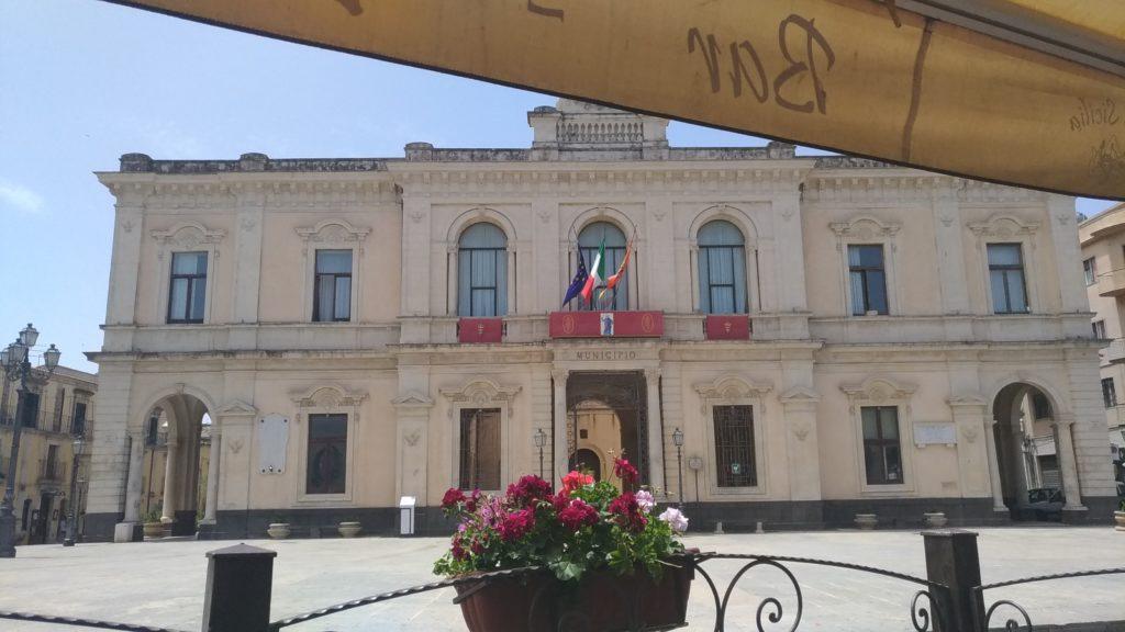 Sicilia Palazzolo Acreide piazza