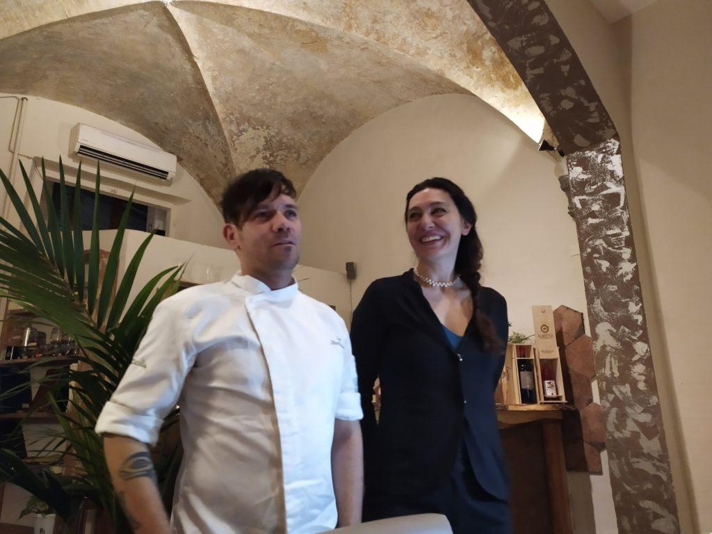 Firenze ristorante Cuculia chef Oliver Betancourt e Roberta Del Prete