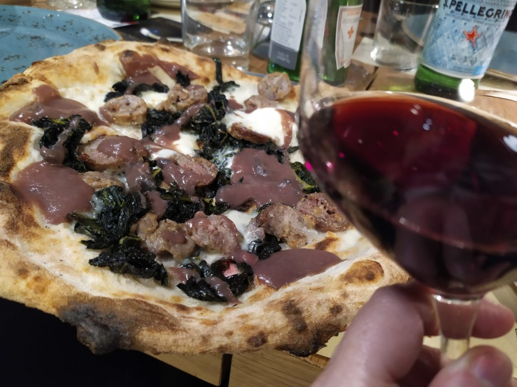 Duje abbinamento pizza e Brunello
