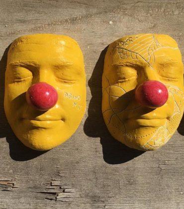 I volti da clown dello street-artist AsinoN.11