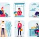La caccia all'untore e la 'distanza sociale'