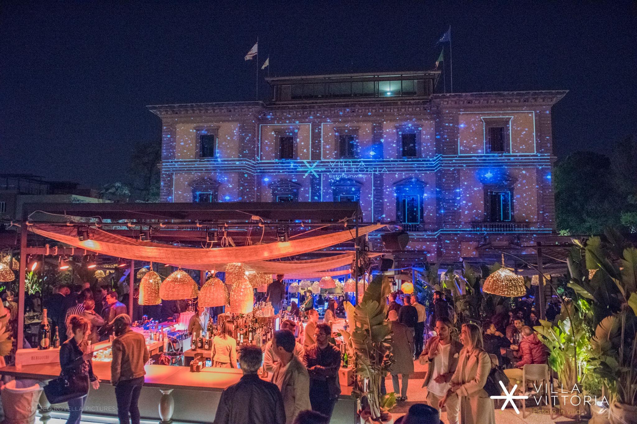 Firenze Villa Vittoria serata