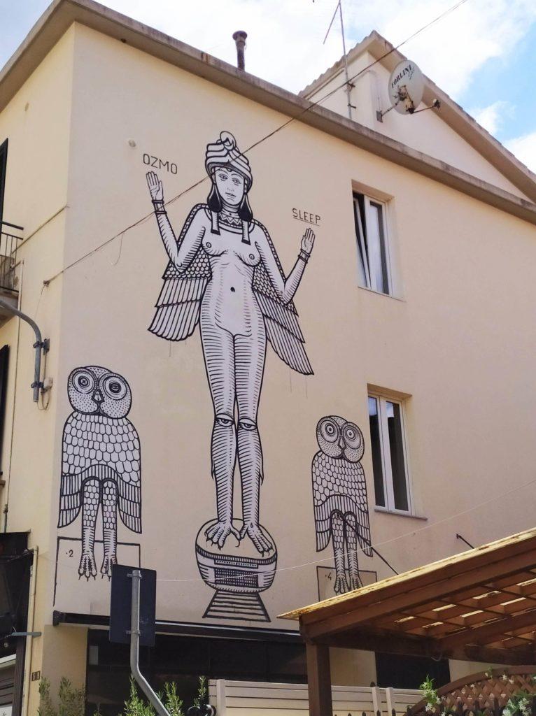 Street art tour Follonica