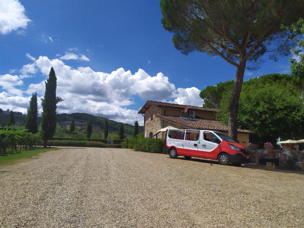 Tour Happy in Tuscany mini-van