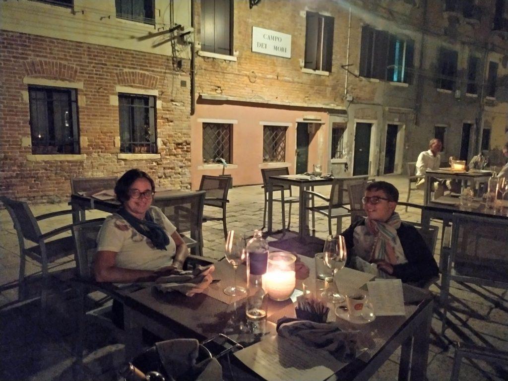 Venezia Cannaregio orto dei mori