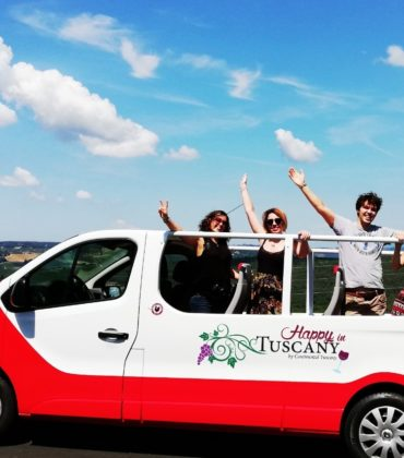 Tour in libertà col minivan Happy in Tuscany