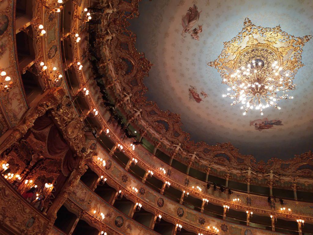 Palchi Teatro La Fenice Venezia