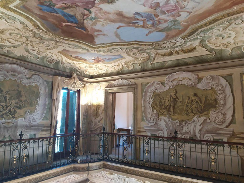 Mira interni di Villa Widmann