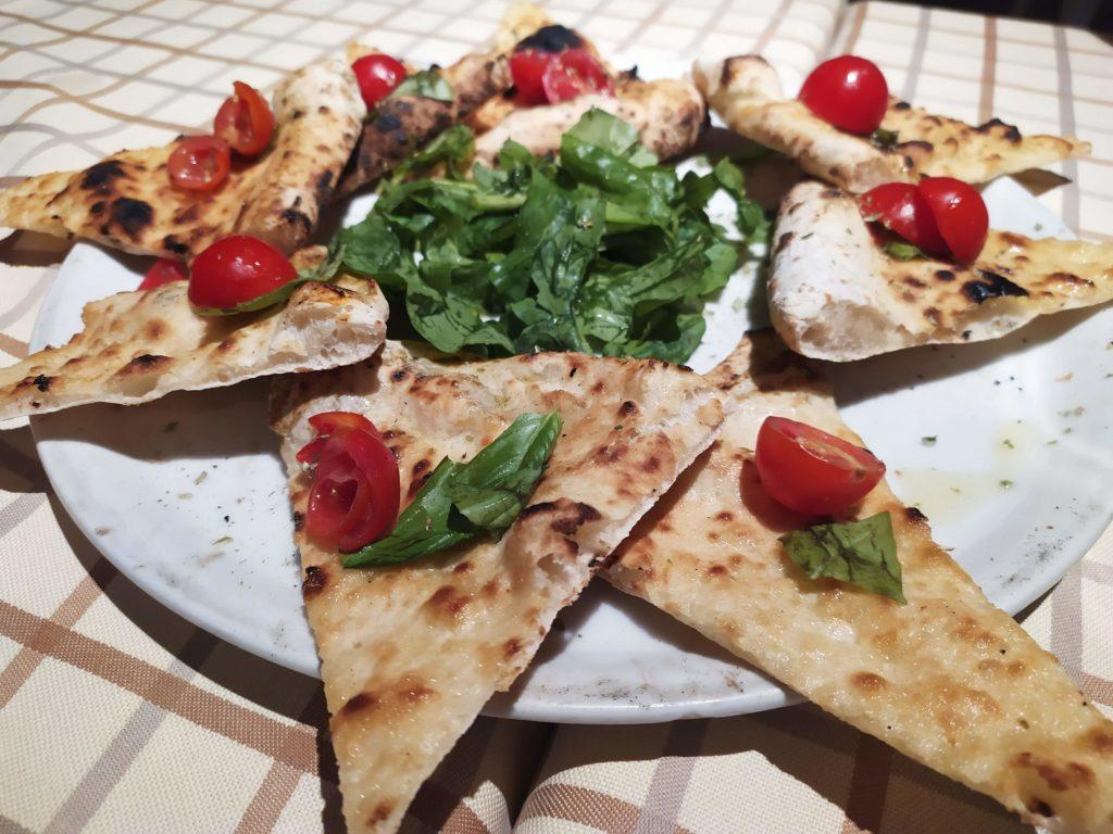 Focaccia pomodorini Pizzaman Firenze